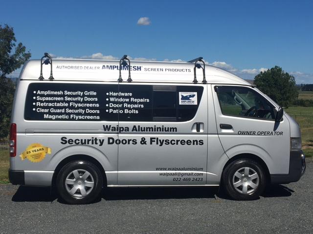 waipa aluminium security doors fly screens hamilton waikato